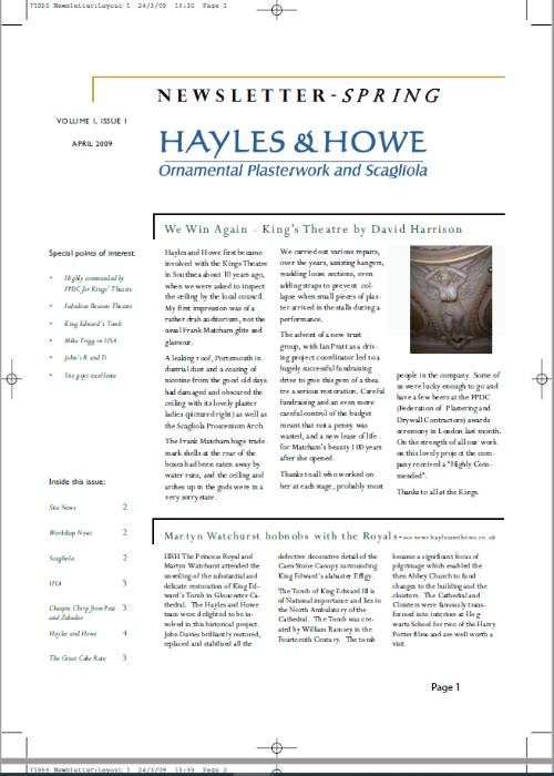2009 issue 1 newsletter 500x700 1