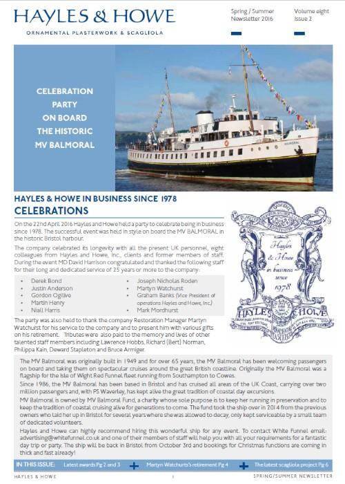2016 issue 2 Spring summer newsletter 500x700 1