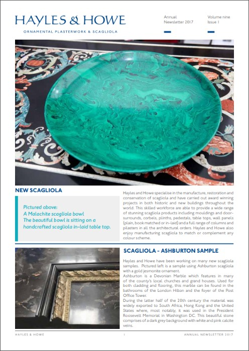 2017 Annual newsletter 496 x 700