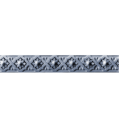 FP13 Diamond Flower frieze plate
