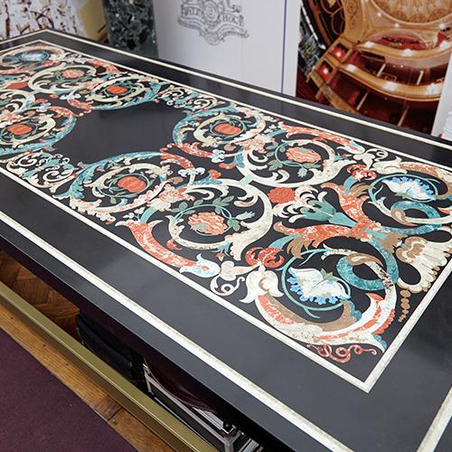 table top scagliola colour